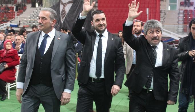 AK Parti-MHP Cumhur İttifakı, 90. Yıl Kapalı Spor Salonunda buluştu