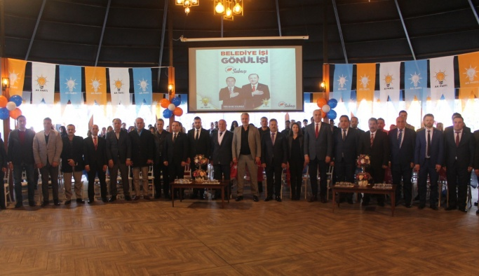 AK Parti Subaşı'nda Meclis Üyesi adaylar tanıtıldı