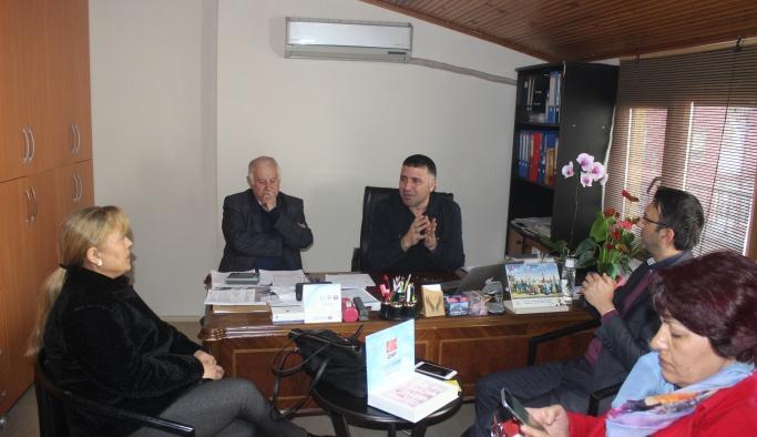 Güler'den YGC'ye ziyaret