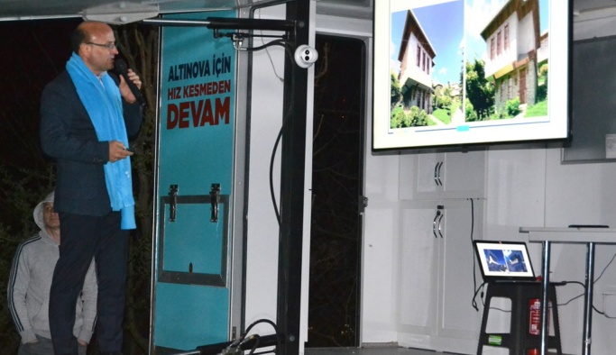 Oral 'Altınova'yı dünya tanıyacak'