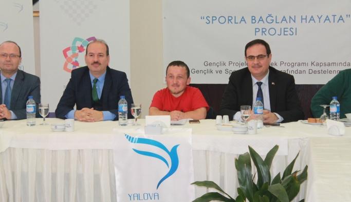 'Sporla Bağlan Hayata Projesi' için bir araya geldiler