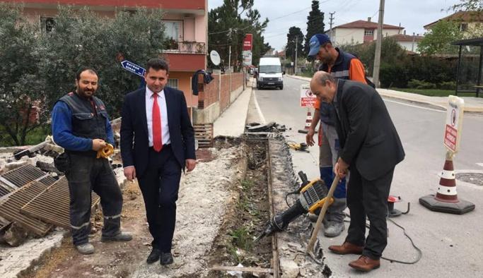 Başkan Arslan, çalışmalara başladı