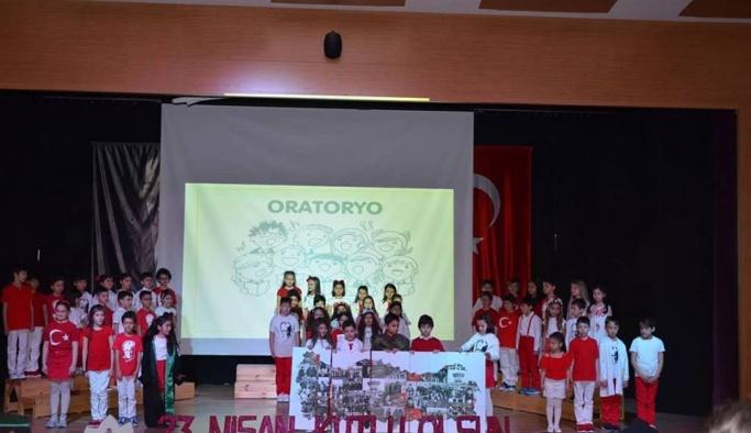 Doğa Koleji '23 Nisan'ı doyasıya kutladı