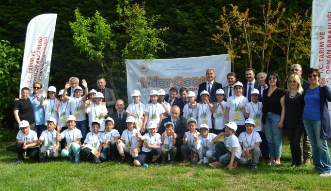 'Lider Çocuk Tarım Kampı' ile çocuklar hem eğlendi hem öğrendi