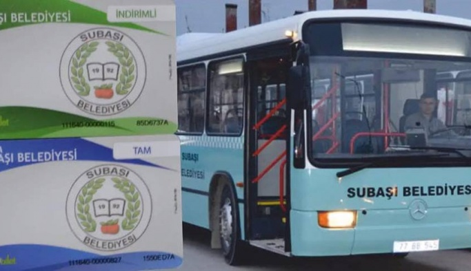 Subaşı 'Halk Otobüsü' hareket saatleri belirlendi