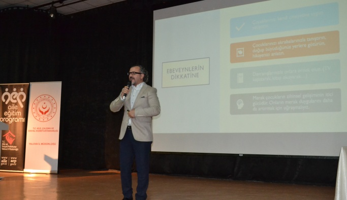 'Aile İçi İletişim ve Sağlıklı Evlilik' konferansı gerçekleşti