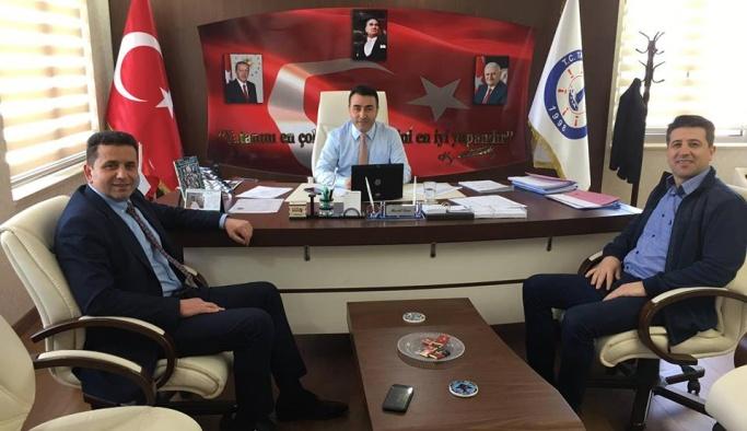 Arslan, başkanları ziyaret etti