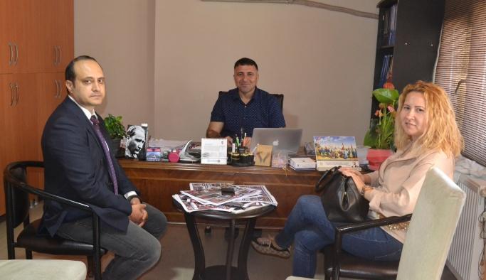 DHA Bursa Bölge'den YGC'ye ziyaret