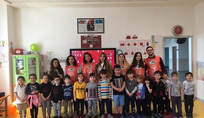Genç TEMA'lar Mektebim Okulları öğrencileri ile buluştu