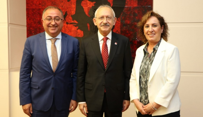 Kılıçdaroğlu'na geçmiş olsun ziyareti