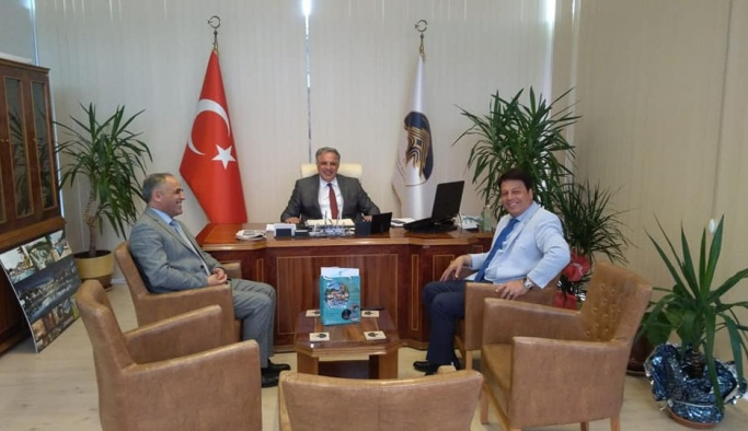 Tali, Başkan Acar'ı ziyaret etti