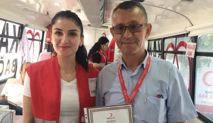 Aktif Hastanesi personeli kan bağışında bulundu