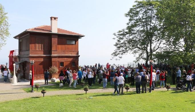 Bayram tatilinde 2 bin 481 kişi ziyaret etti