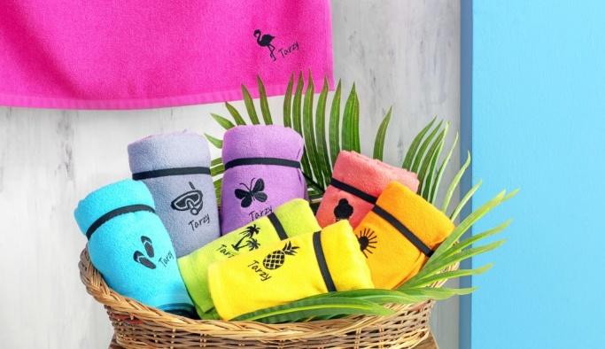 Özdilek Ev Tekstili'nden rengarenk plaj modası!
