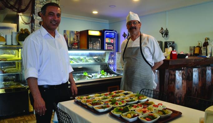 Şimşek, 'Ustamız Marmara'nın en iyi balık ustası'