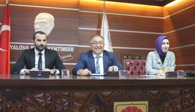 Yalova Belediye Meclisi Haziran Ayı toplantısını gerçekleştirdi