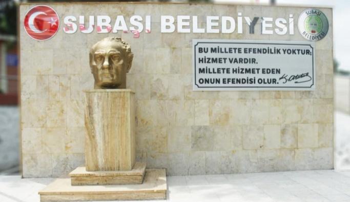 Atatürk Büstü yenilendi!