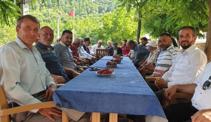 Bağatar köy köy gezip, incelemelerde bulundu!