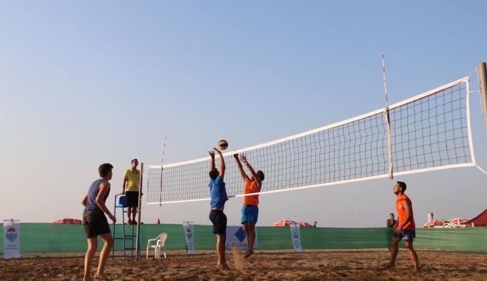 Beach Volley start aldı