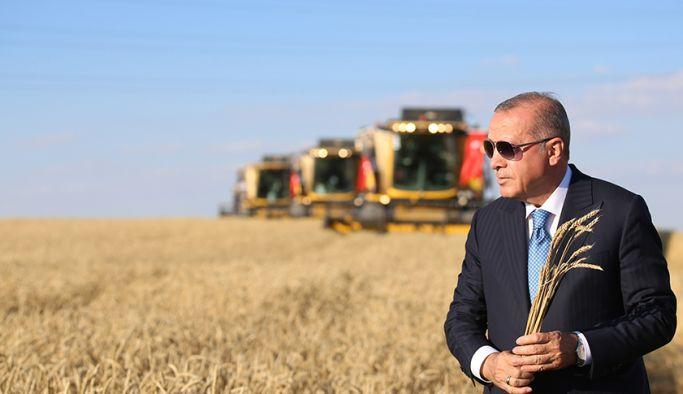 Erdoğan, TİGEM 69. Geleneksel Hasat Bayramı'na katıldı