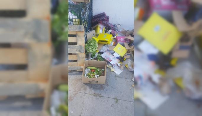 Șok Market, çöplüğe dönüştürdü!