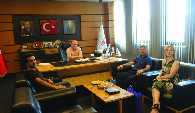 YGC Yönetiminden Oral'a ziyaret