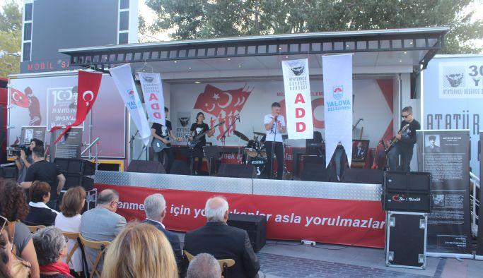 Atatürk'ün Yalova'ya gelişinin 90'ıncı yılı kutlandı
