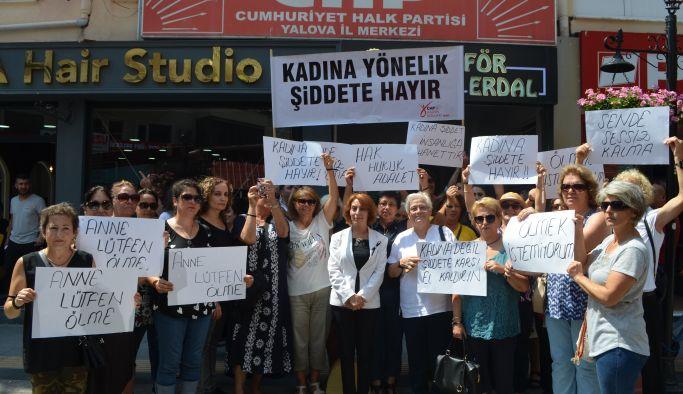 CHP'den kadına şiddete sert tepki