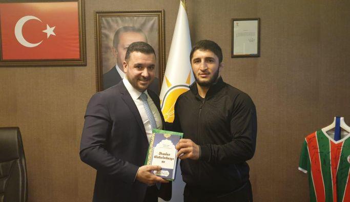 Abdulrashd Sadulaev'den Bağatar'a ziyaret