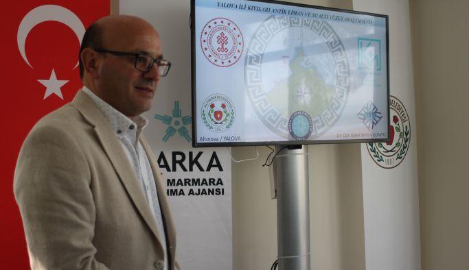 Altınova'da su altı şehri bulundu!