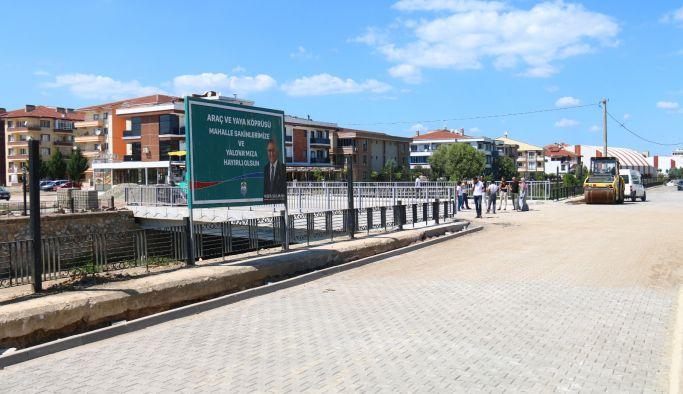 Köprü, alternatif güzergah oluşturdu