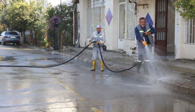 Mustafa Kemal Paşa Mahallesi'nde kapsamlı temizlik