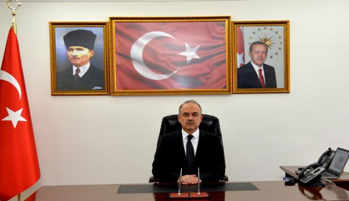 Vali Muammer Erol'dan 29 Ekim Cumhuriyet Bayramı mesajı
