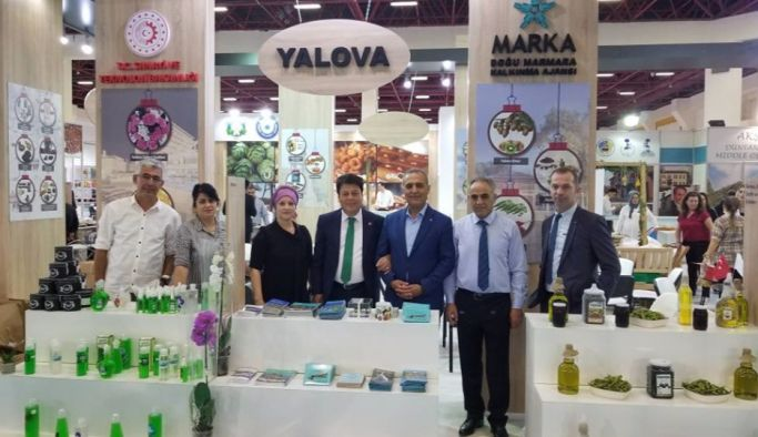 Yalova, Antalya 10. YÖREX Fuarı'nda
