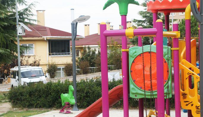 Subaşı'nda parklar artık daha güvenli