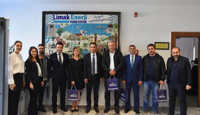 Yalova Manşet'ten LİMAK Enerji'ye ziyaret