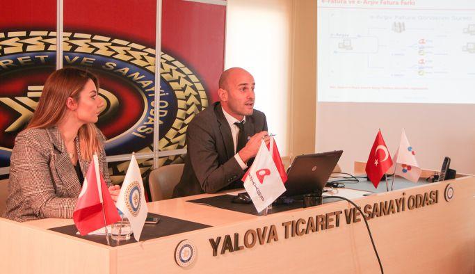 YTSO'da E-Dönüşüm semineri gerçekleştirildi