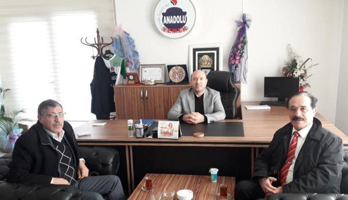 Durmaz'a Ergani'den ziyaret