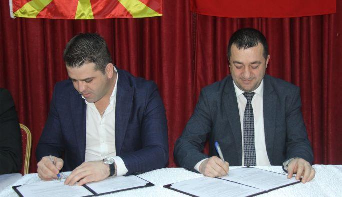Kardeş şehir anlaşması imzalandı