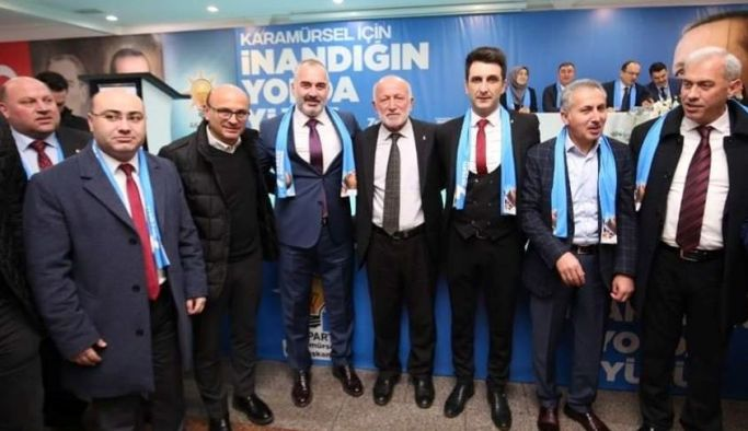 Başkan Oral ve Zafer, Karamürsel Kongresine katıldı