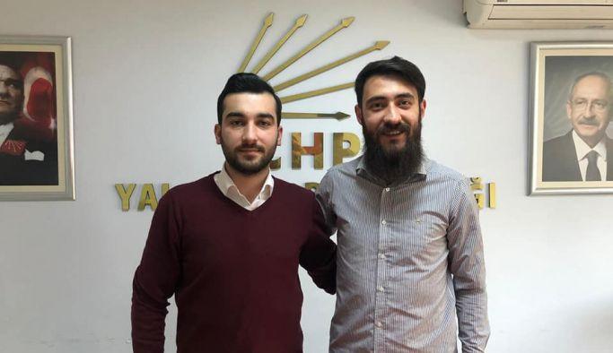CHP Merkez İlçe Gençlik Örgütü Başkanı Turgut Can Adıgüzel oldu