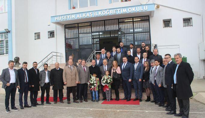 Fırat Yılmaz Çakıroğlu Konferans Salonu açıldı
