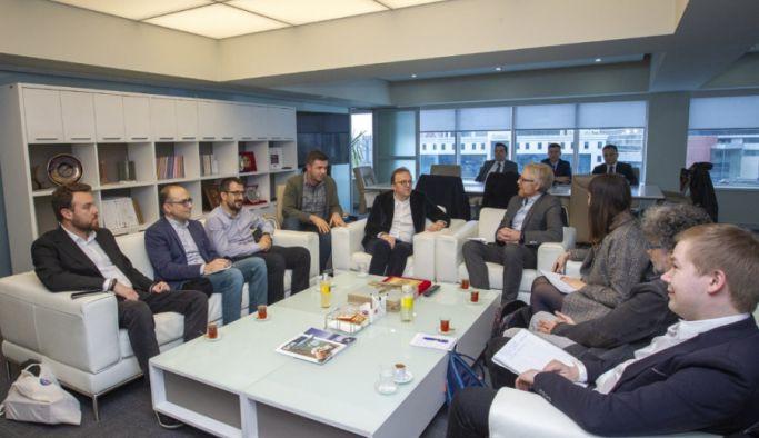 Uluslararası gazeteci örgütlerinden BİK Genel Müdürüne ziyaret