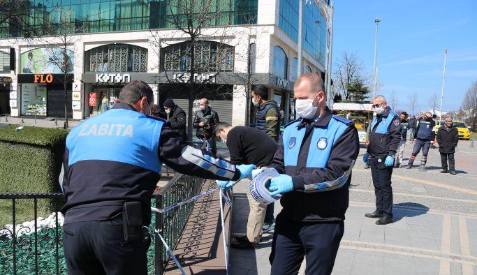 Yalova Belediyesi, bankları bantladı