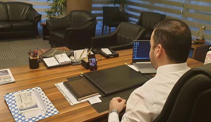 Bağatar, Cumhurbaşkanı ile tele konferansla görüştü