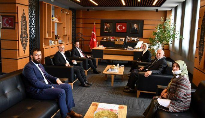 AK Parti'den Oral'a ziyaret