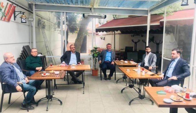 Siyasi Partilerin İl Başkanları toplandı
