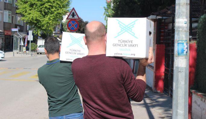 TÜGVA, Ramazan ayı yardımlarını ulaştırdı