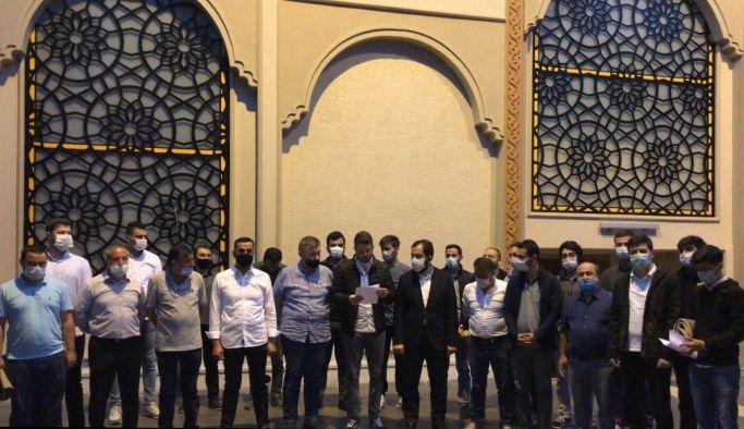 AK Parti Yalova İl Gençlik Kollarından 'Ayasofya' için şükür duası