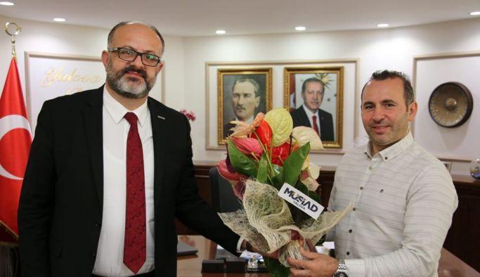 MUSİAD yönetiminden Tutuk'a ziyaret
